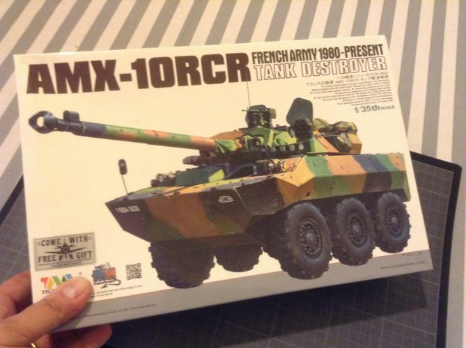 AMX 10 RCR Tiger Model - echelle 1/35