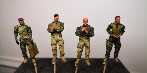 Figurines Opex Barkhane FOB 1/35 Blast Models